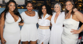 It Was All White Everythang at Full Figure Fashion Week!