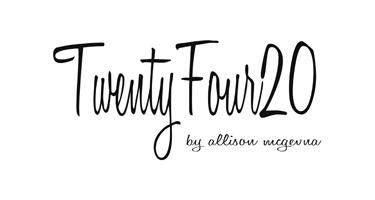 TWENTYFOUR20 by Allison McGevna