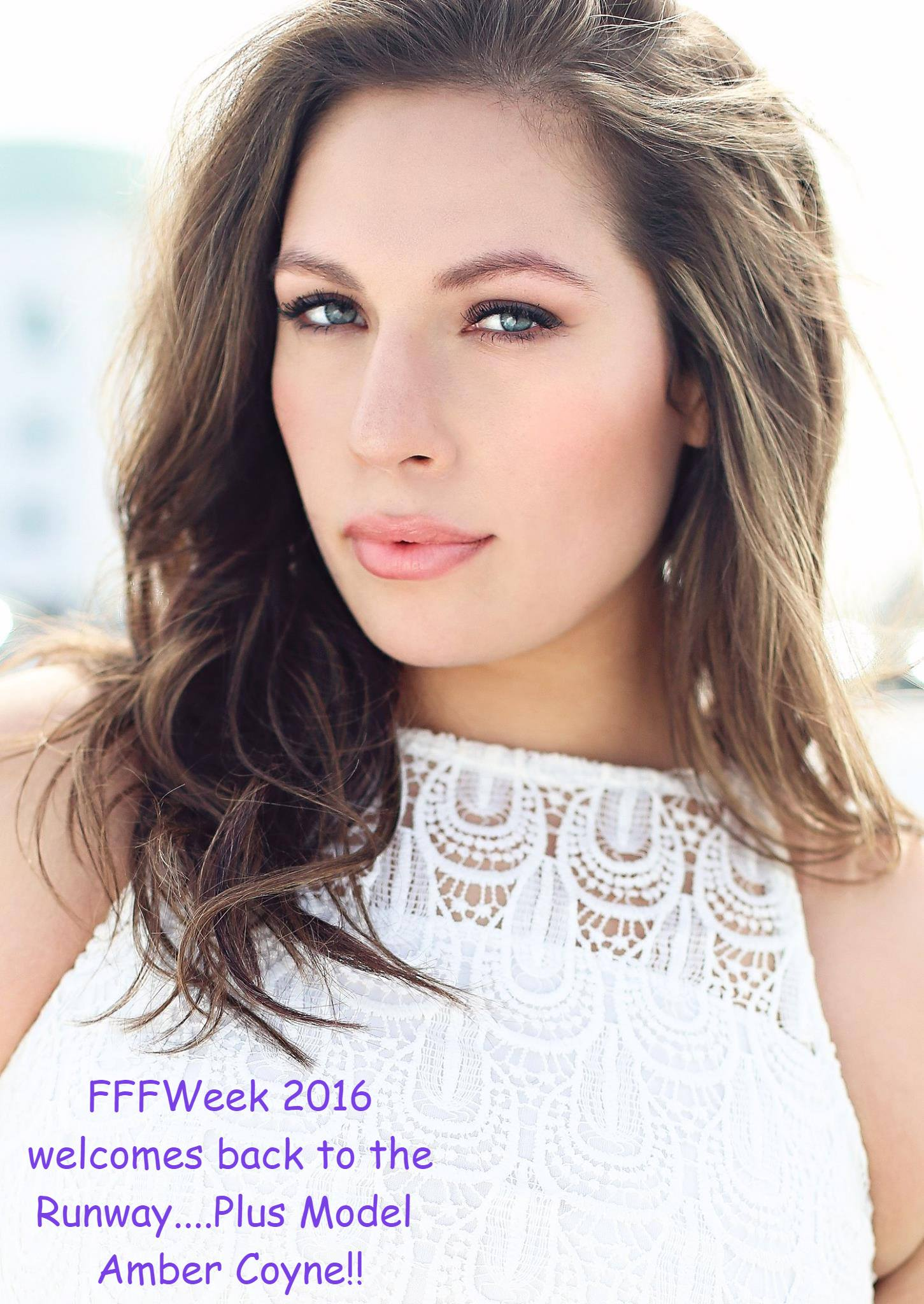 Http Fffweek Com Fffweek Announces The 2016 Runway Models Plus Model Amber Coyne